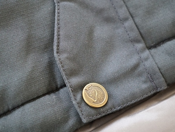 Bottom Bottom Light Padded Mens Winter Jacket Fjallraven Skogso