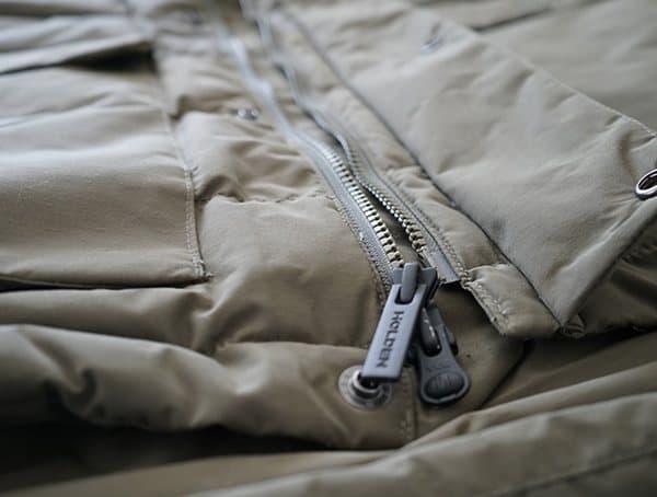 Bottom Center Chest Zippers Holden Felton Down Parka For Men