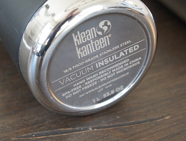 Bottom Details 32 Oz Klean Kanteen Insulated Tkpro