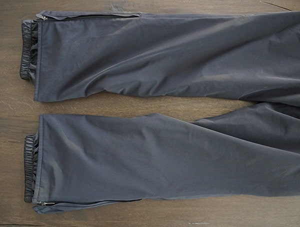 Bottom Pant Leg With Boot Gaiters Descente Swiss Ski Team