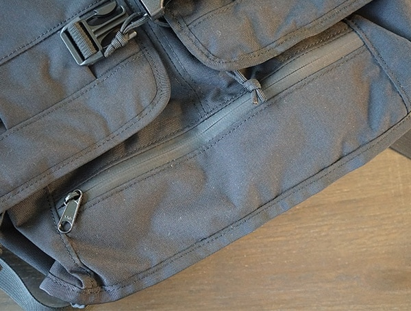 Bottom Pocket Zipped Closed Mission Workshop The Rhake Backpack