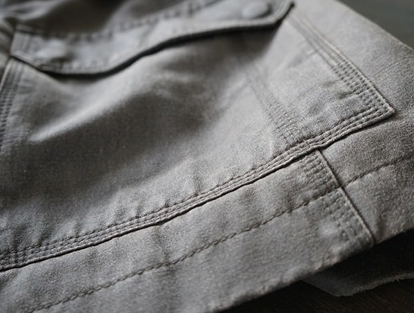 Bottom Stiching Of Jacket Dakota Grizzly Tripp Mens Travel Coat