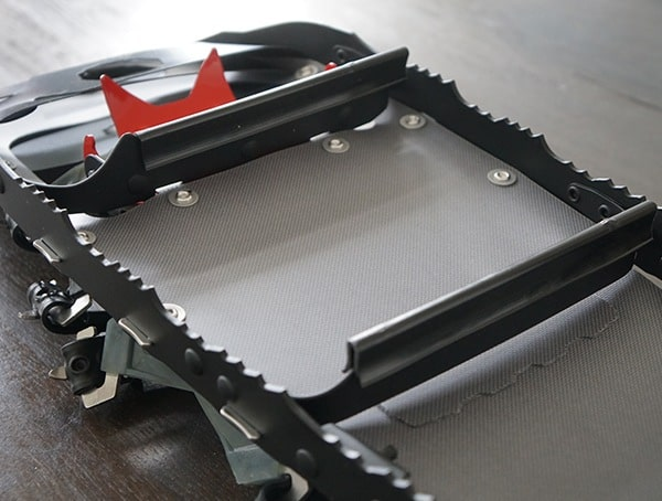 Bottom Traction Claws With Covers Msr Lighting Ascent Snowshoes