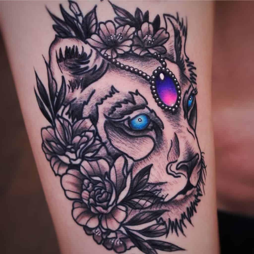Boulder Long Mont Lioness Tattoo