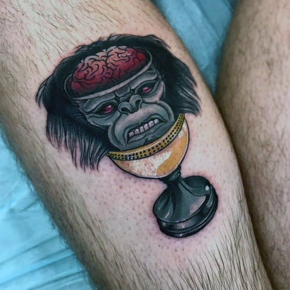 Bowl Tattoo Indiana Jones Designs For Men On Thigh