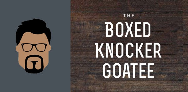 Boxed Knocker Goatee Styles