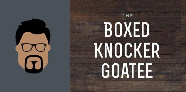 Boxed Knocker Goatee Styles