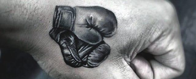 Boxing Tattoos For Men