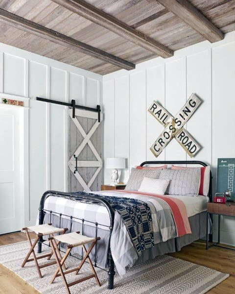 40 Rustic Living Room Ideas To Fashion Your Revamp Around: Top 70 Best Teen Boy Bedroom Ideas