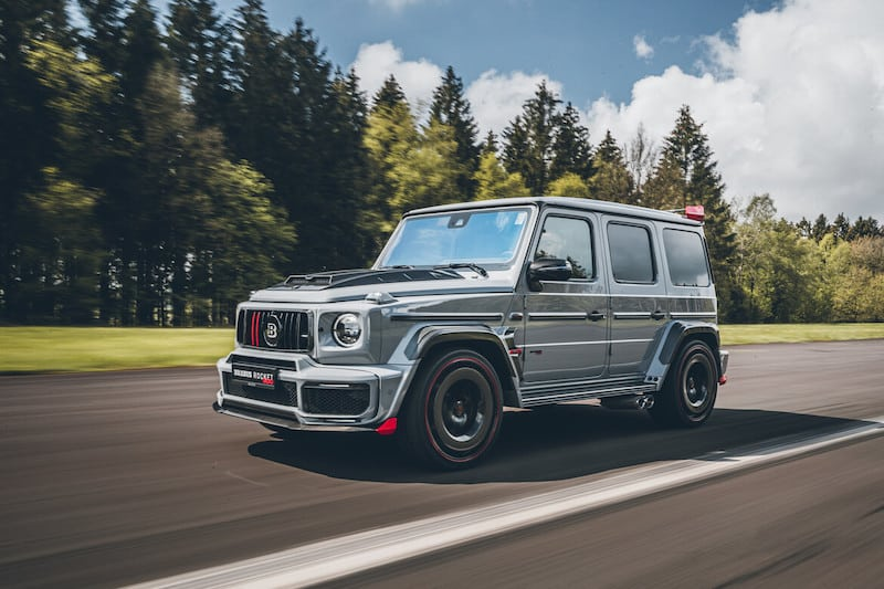 Brabus Is Back at It Again With the Rocket Edition G-Wagon