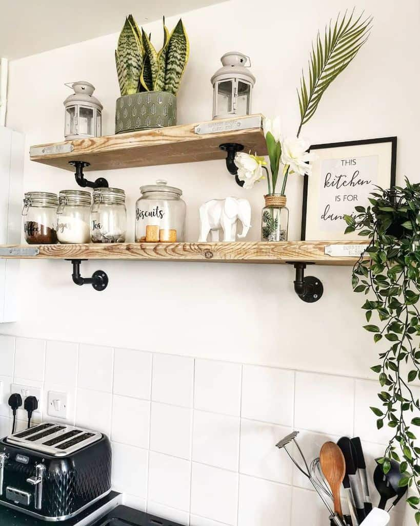 bracket kitchen shelving ideas florellaclean