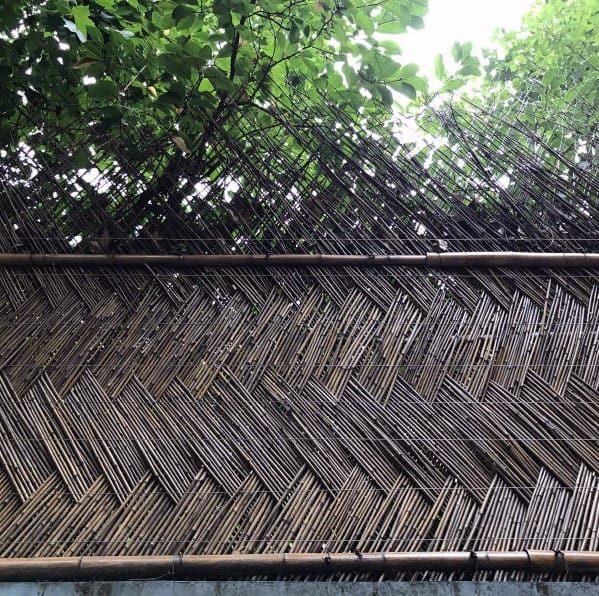 Braided Design Ideas For Bamboo Fence