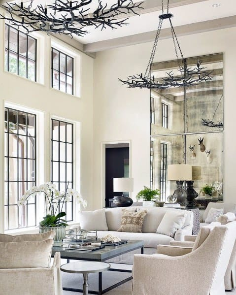 Top 50 Best Living Room Lighting Ideas