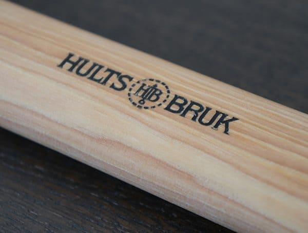 Branded Handle Detail Hults Bruk Sarek Splitting Axe