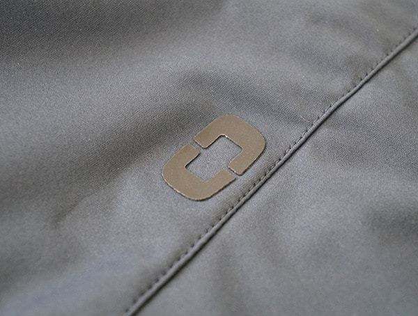 Branded Rubber Patch Ogio All Elements Strech Wind Jacket