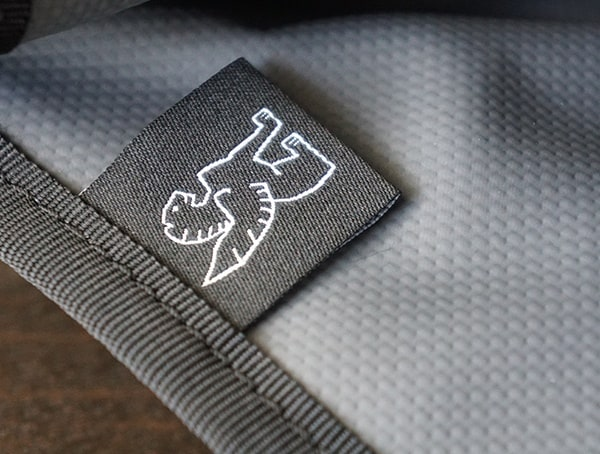 Branded Tag Detail With Welded Waterproof 18oz Truck Tarpaulin Liner
