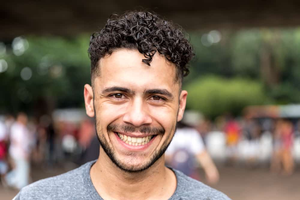 brazilian man smiling