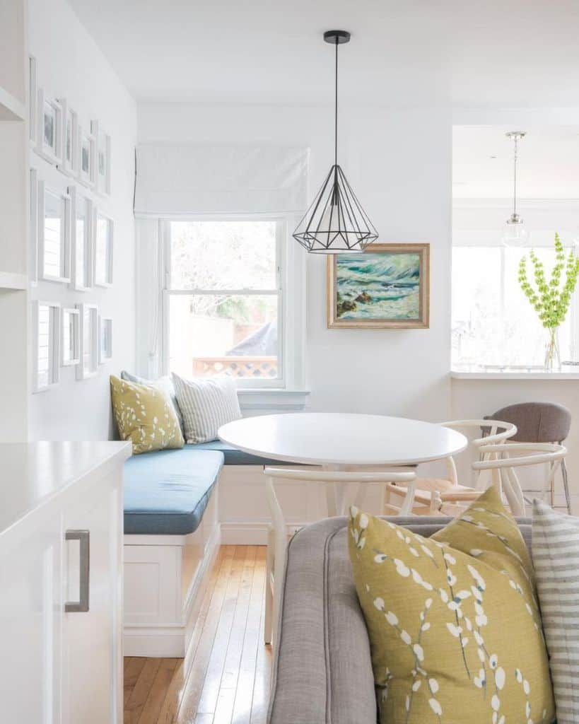 Breakfast Nook Banquette Seating Sarahlarosedesign