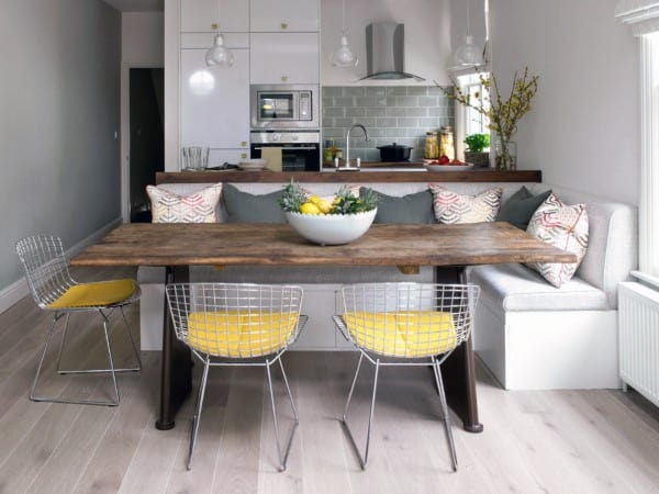 Breakfast Nook Decorating Ideas