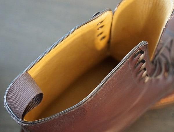 Breathable Full Grain Leather Lining Beckett Simonon Dowler Cap Toe Boots