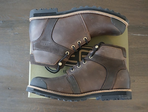 Breathable Textile Lining Mens Keen The Rocker Waterproof Boots