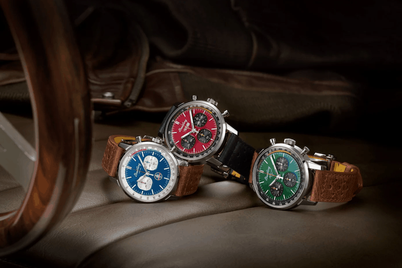 Breitling's Latest Watch Collection Takes Inspiration From Classic American Cars