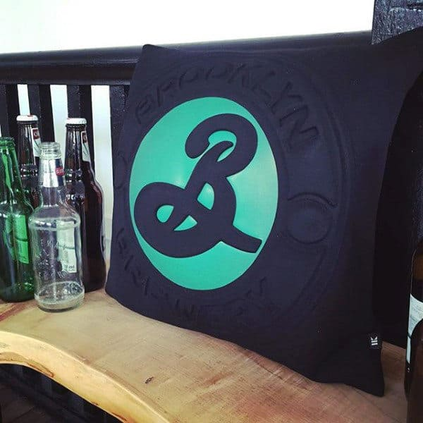 Brewing Company Pillow Man Cave Decor