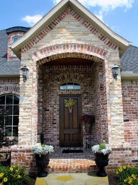 Brick And Stone Exterior Cladding Design