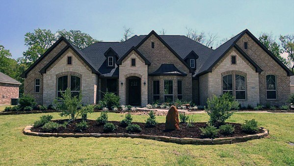 Brick And Stone Exterior Cladding Ideas