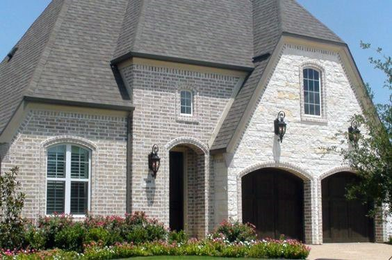 Brick And Stone Exterior Design Inspiration