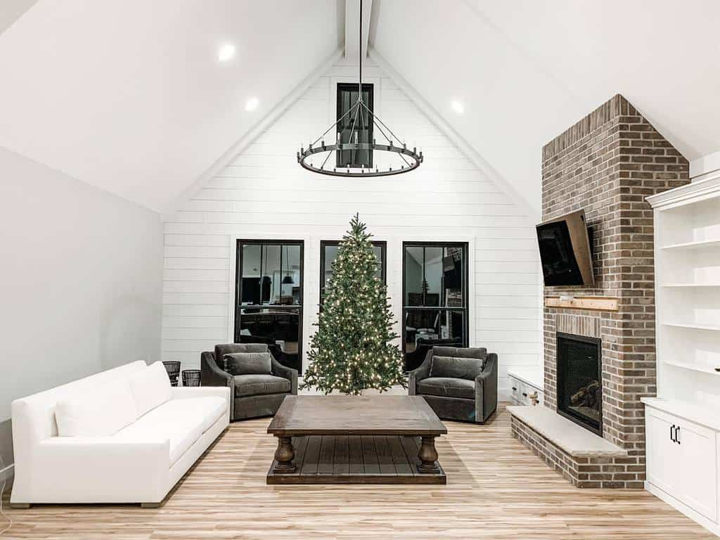 brick fireplace wall ideas pleasant_hill_design