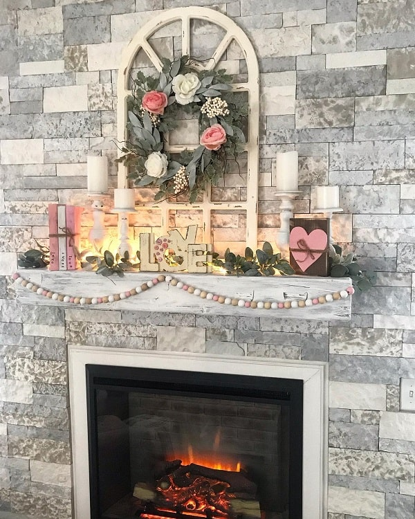 Brick Floor To Ceiling Fireplace Surround Shiplapshanty