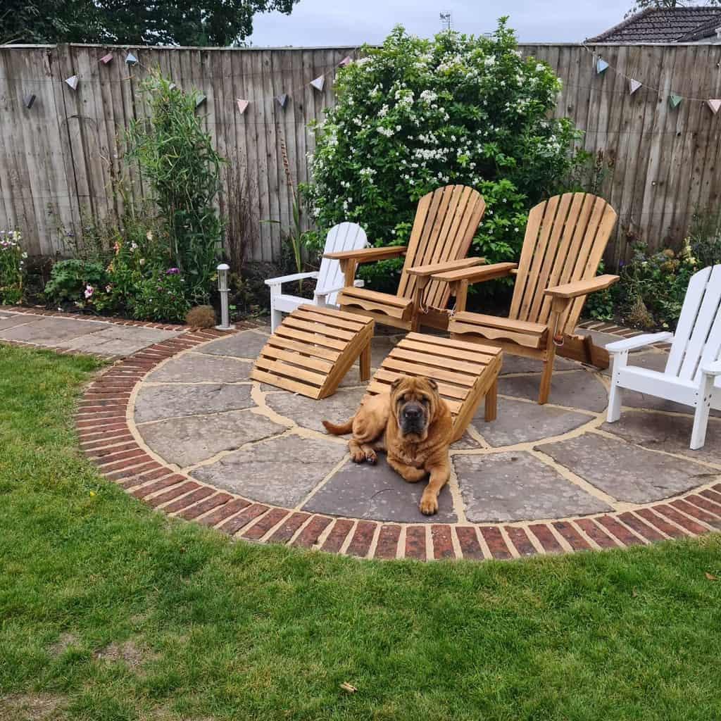 brick garden edging ideas reidandbrown
