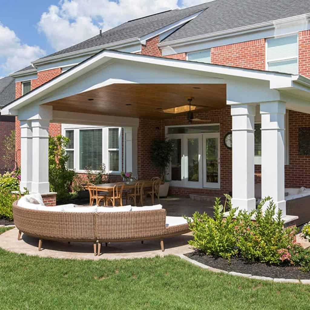 bricks covered patio ideas nealsdesignremodel