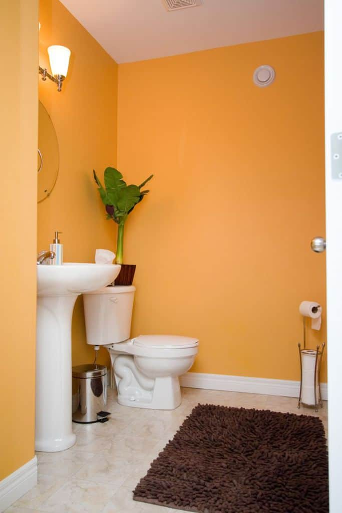 Bright Color Small Bathroom Paint Ideas 2