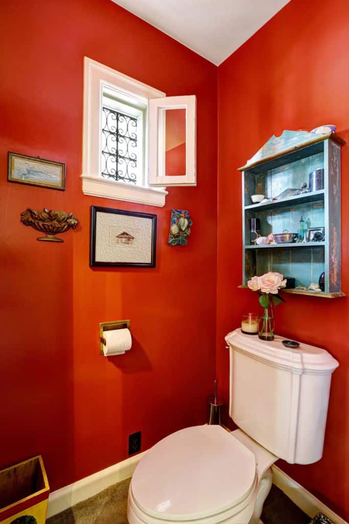 Bright Color Small Bathroom Paint Ideas 6