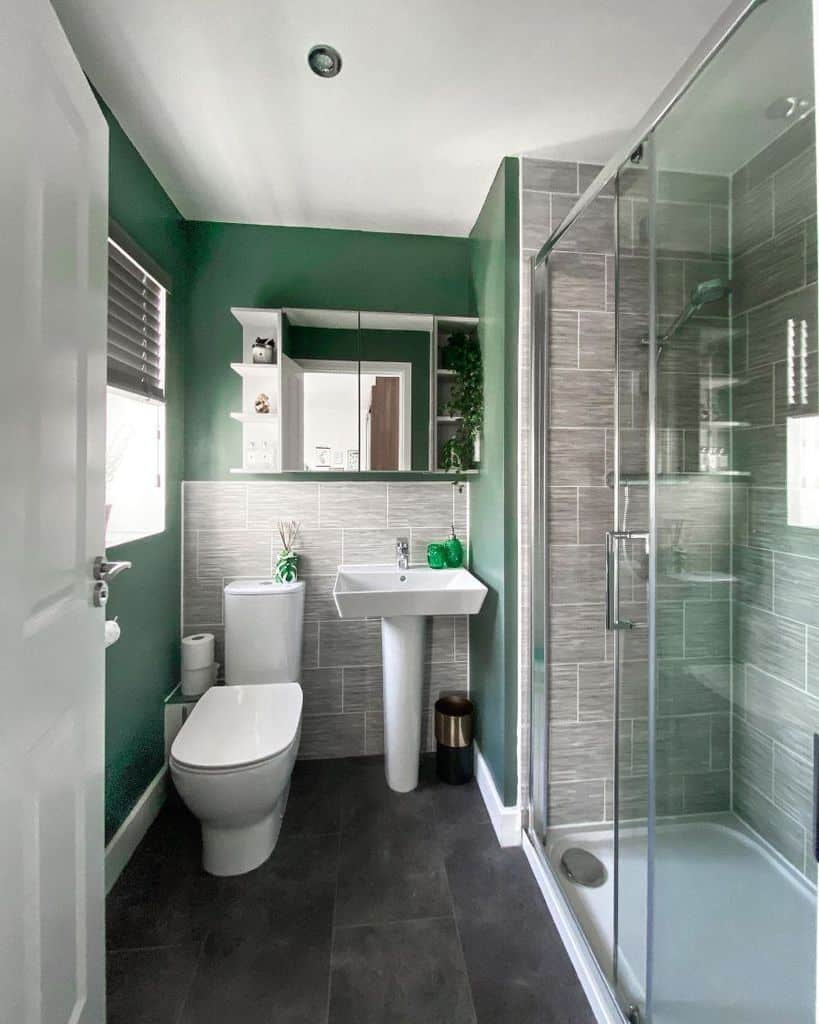 Bright Color Small Bathroom Paint Ideas Lydias Layton Life