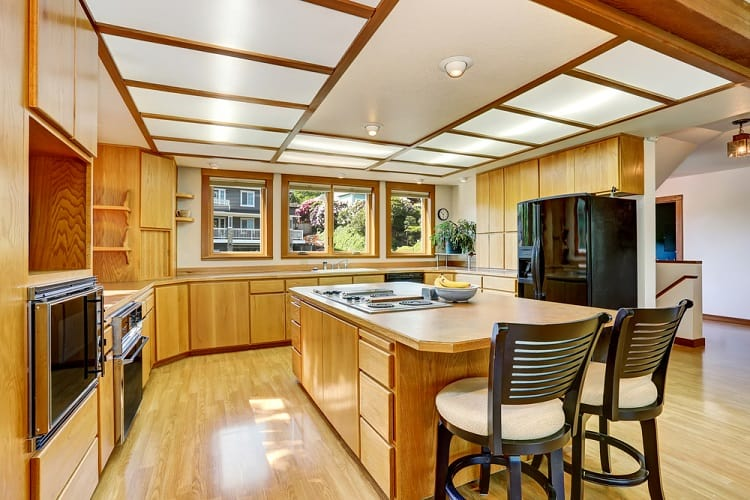 Bright Kitchen Area Ceiling Ideas
