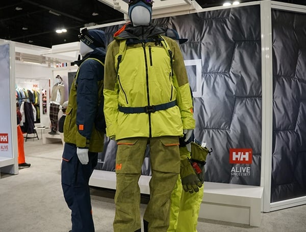 Bright Winter Jacket And Pants Helly Hansen Display