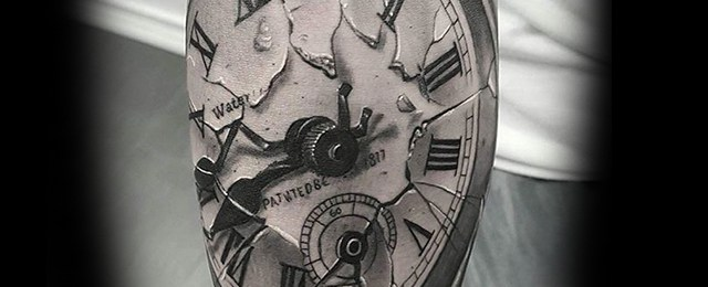 30 Broken Glass Tattoo Designs For Men – Shattered Ink Ideas