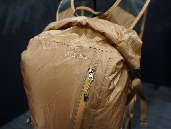Bronze Coyote Brown Color Matador Backpack