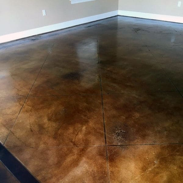 Garage flooring ideas for men paint tiles and epoxy