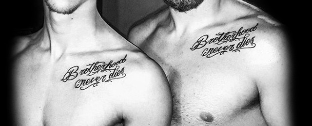 Brother Tattoos For Men