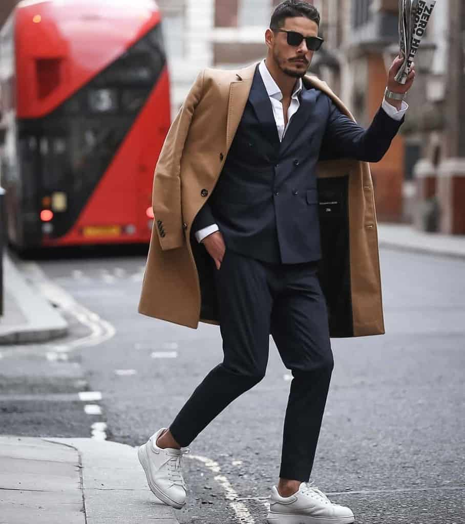 Brown Coat Mens Suit Style