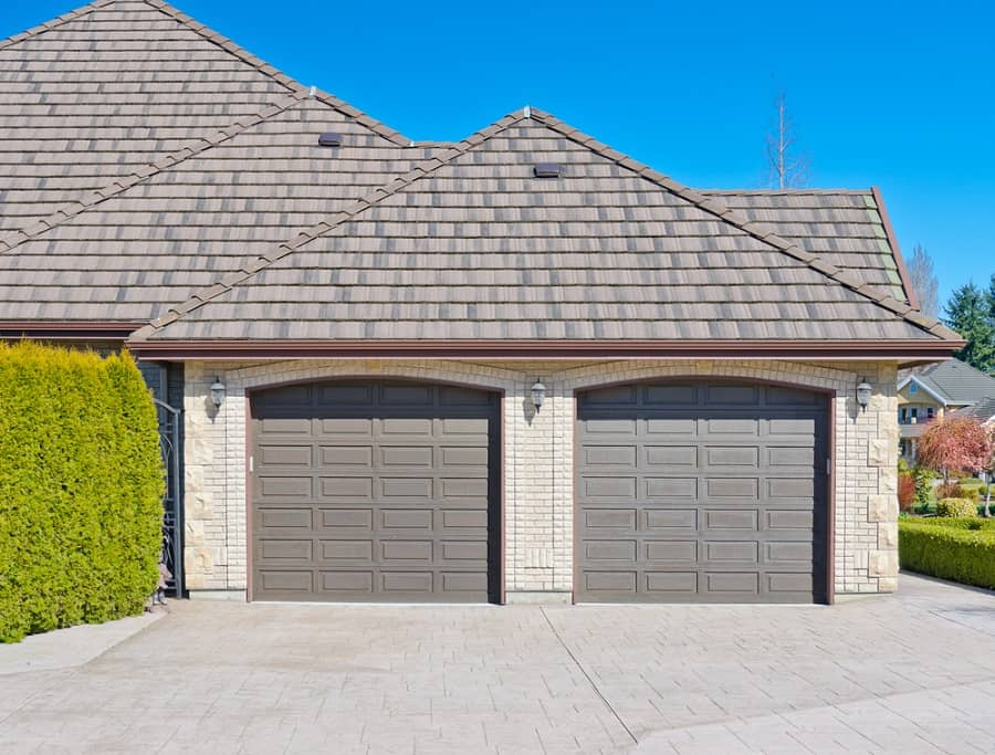 Barn Look Exterior Ideas Garage Door