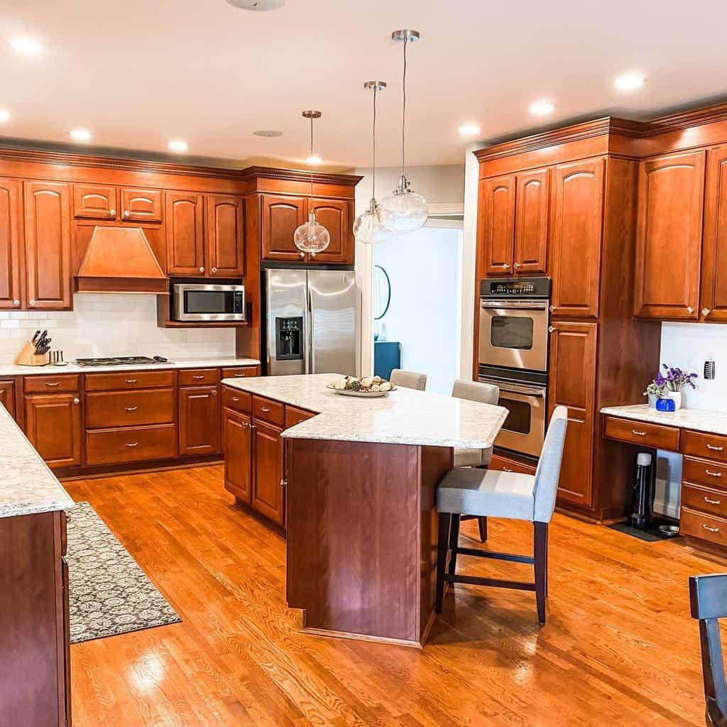 brown kitchen color ideas transformedinteriors