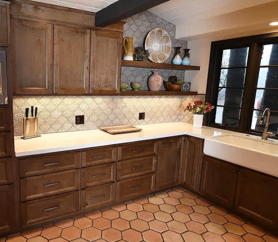 brown kitchen tile ideas forevertileandstonedesign