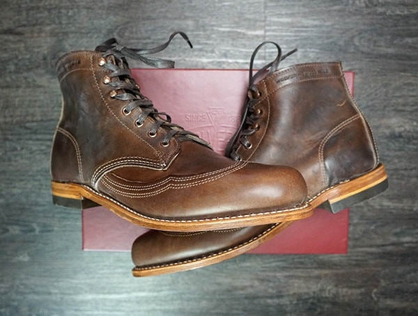 Brown Mens Wolverine Addison 1000 Mile Boots Reviews