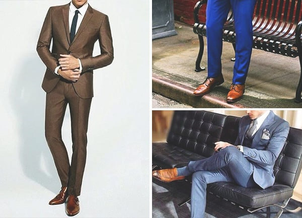 Brown Shoes With Brown Suit Mens Fashion