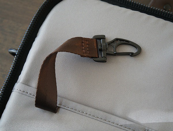 Brown Tether Key Hook Mens Victorinox Architecture Urban Bodmer 14 Laptop Bag
